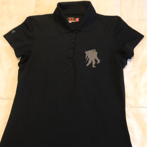 db2abeea Black Wounded Warrior Under Armour Polo. M_5a64ee20077b9772ec959753